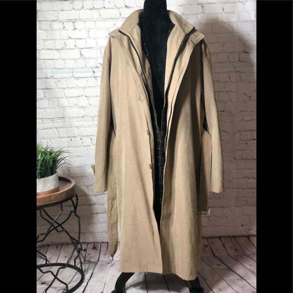 5239aa6164a4 Giorgio Armani Jackets & Coats   Mens Trench Coat   Poshmark